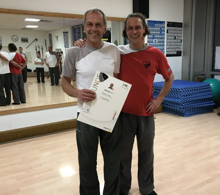 Ernennung zum 1. Lehrergrad WT ➞ Harald Laub