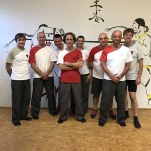 Teilnehmer 6. Schülergrad WingTsun KungFu Intensiv Training