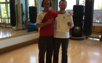 Dr. Christoph Kressierer erhält den 2. Lehrergrad im WingTsun