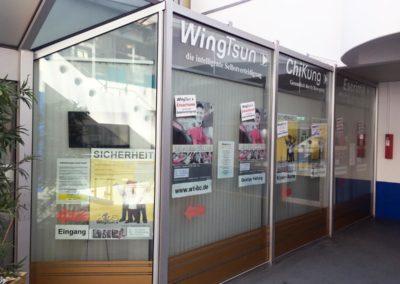 WingTsun Eingangsbereich Academy Biberach