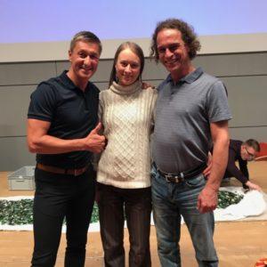 Sifu Bodo Seibold und Simo mit Alexander Kaufmann