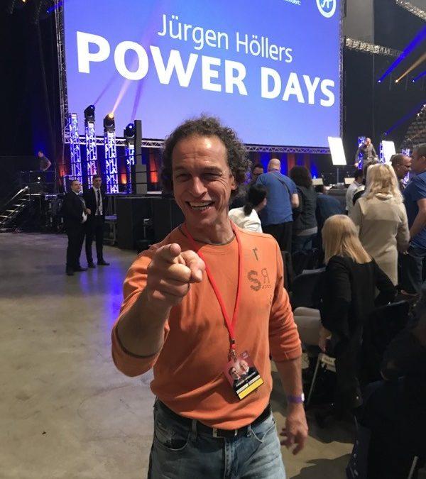 Meister Sifu Bodo Seibold auf den Power Days bei Jürgen Höller