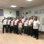 Zufriedene Teilnehmer des Siu Nim Tao Seminar von Meister Sifu Bodo Seibold