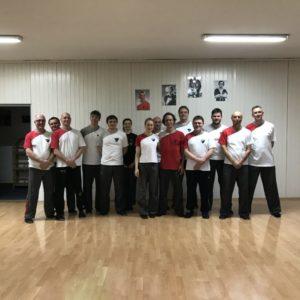 Teilnehmer WingTsun - Intensiv - Training, Kampfsport und Selbstverteidigung