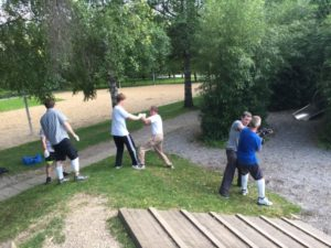 WingTsun Outdoor - Training