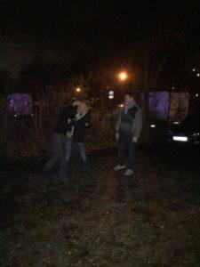 Training im Dunkeln
