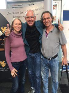 Sifu und Simo mit Mike Diersen