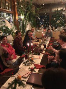 Weihnachtsfeier der WingTsun KungFu Akademie Memmingen