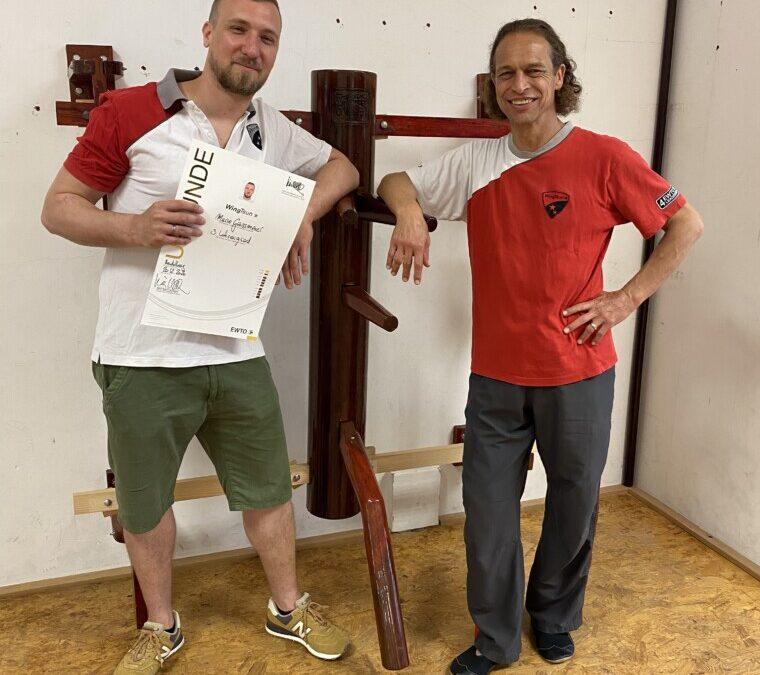 Mario Gaissmaier wird zum 3. HG WingTsun ernannt !