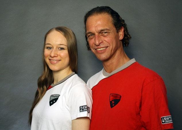 Meister Sifu Bodo Seibold zusammen mit seiner Frau Simo Eva Seibold